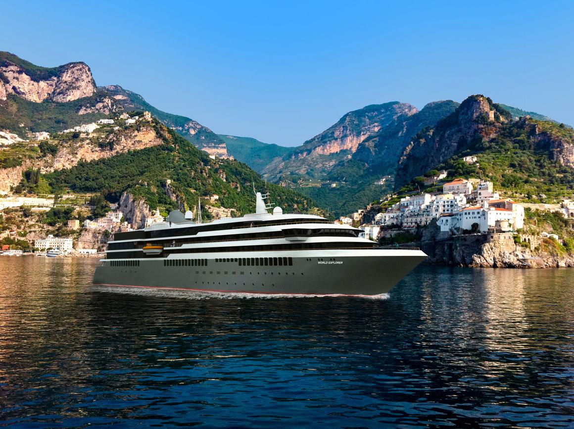 Der WORLD EXPLORER kommt noch später | © nicko cruises Schiffsreisen GmbH