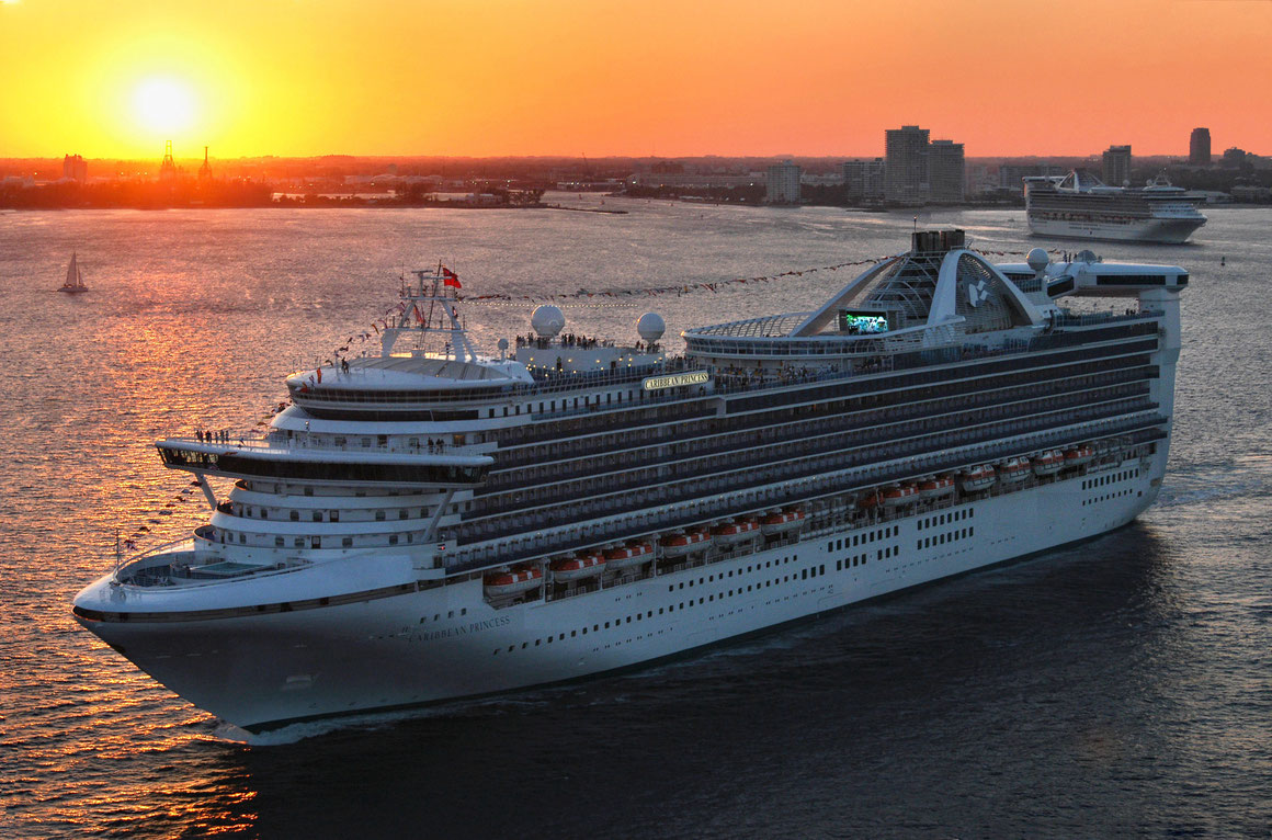 Caribbean Princess Werftaufenthalt 2019