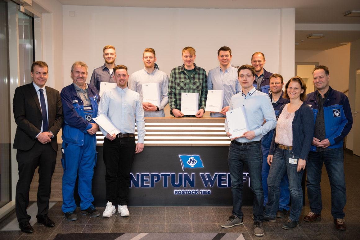Neptun Werft erhöht Ausbildungsquote um 50 %