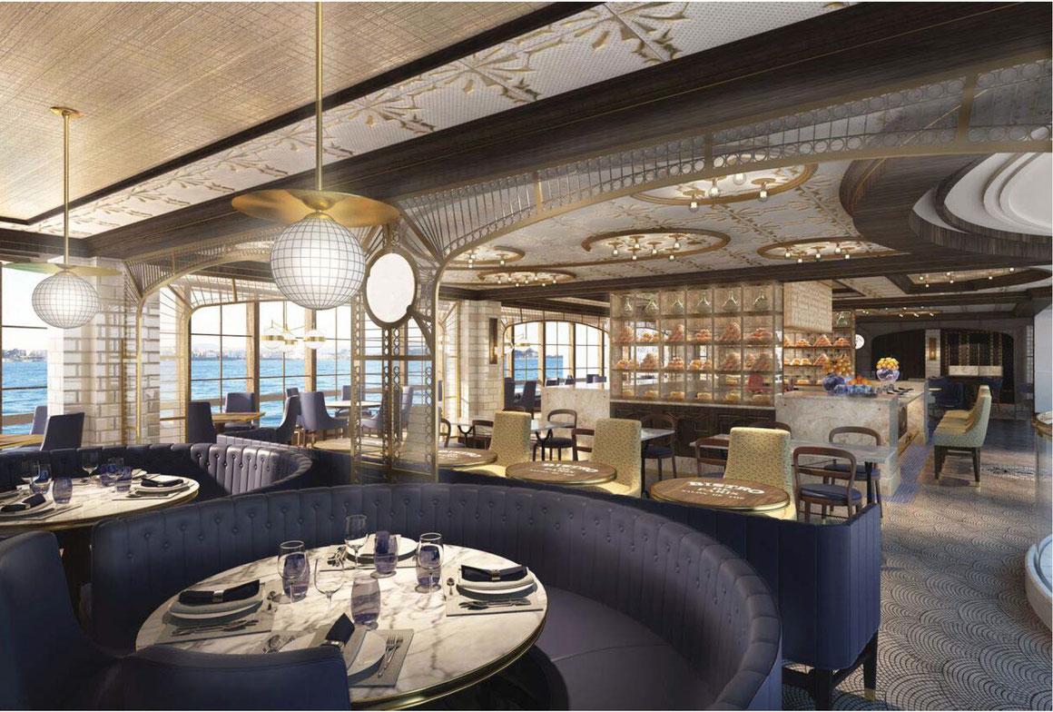 Restaurant La Mer Sky Princess Princess Cruises