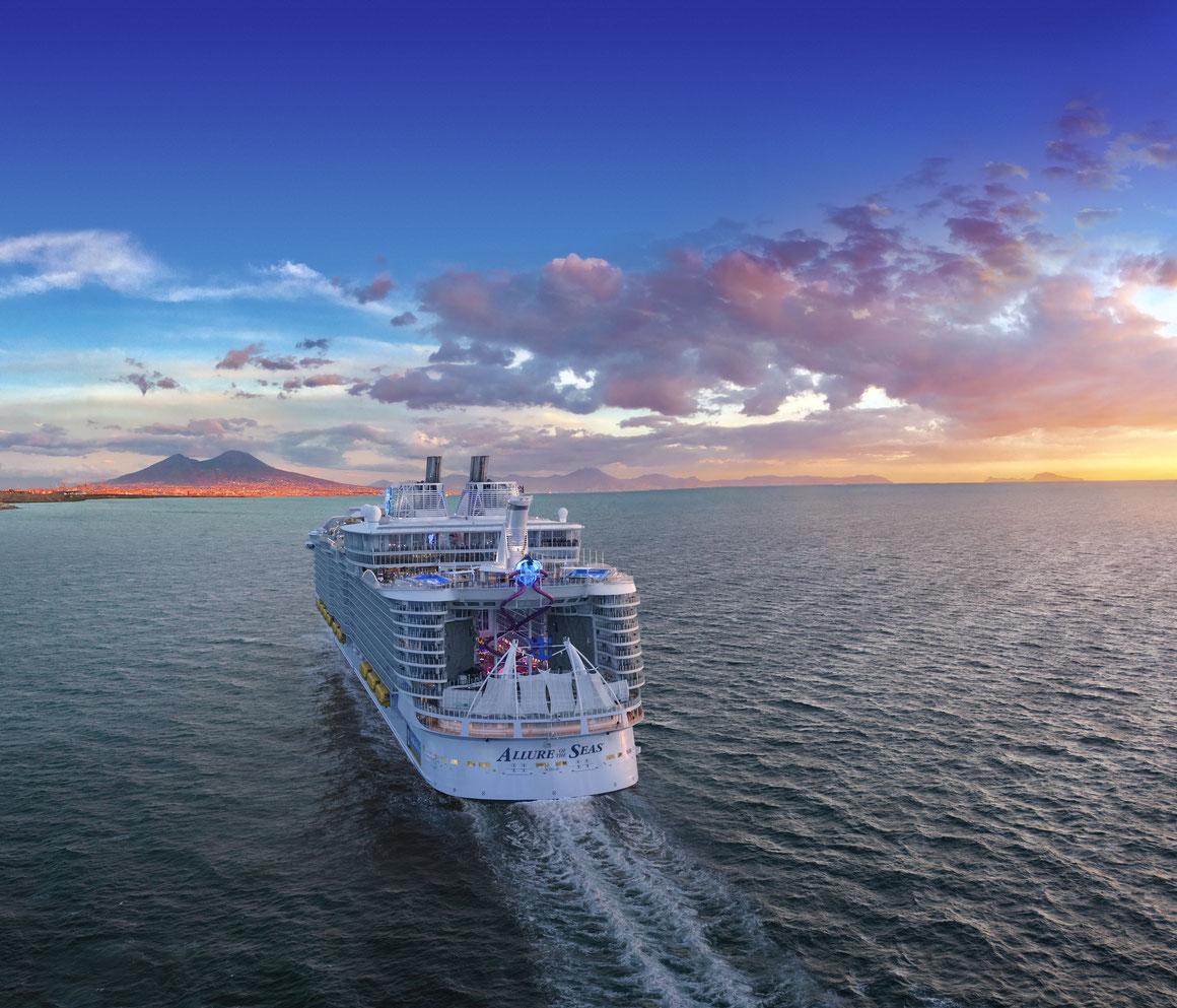 Allure of the Seas Umbau 2020