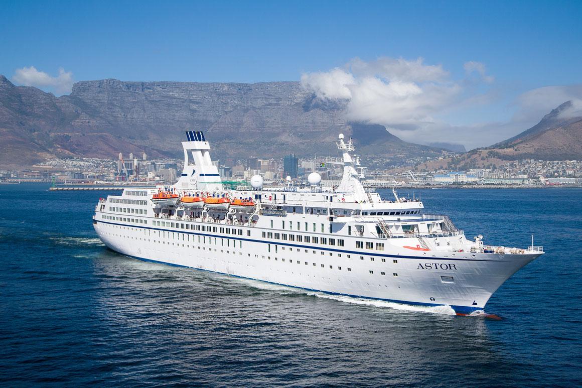 MS Astor Weltreise 2019 2020