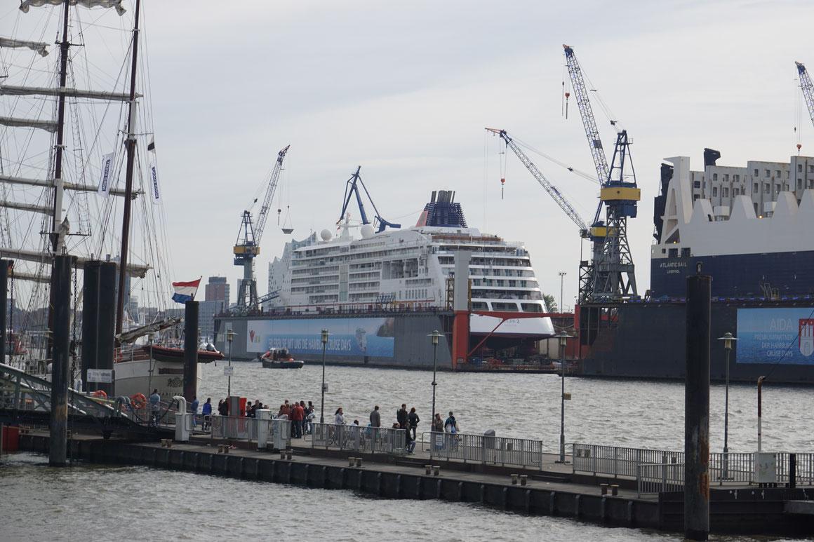 MS Europa 2 Werft