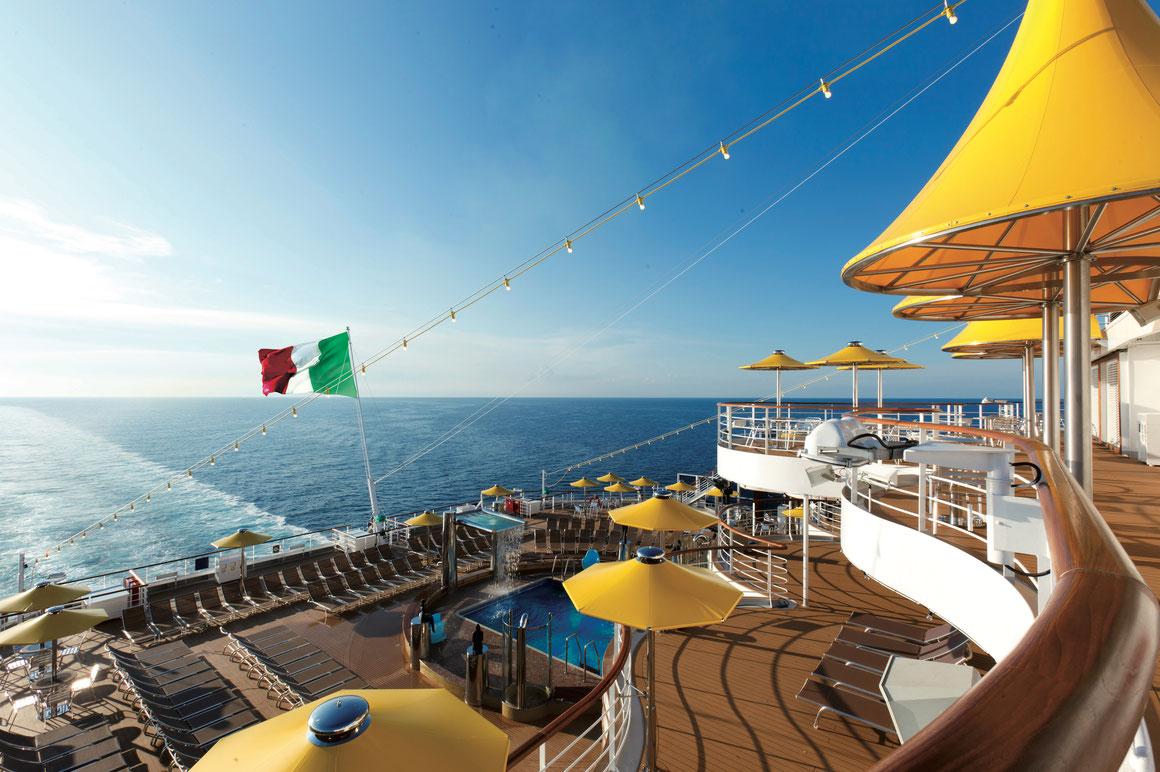 Costa Fortuna Mittelmeer