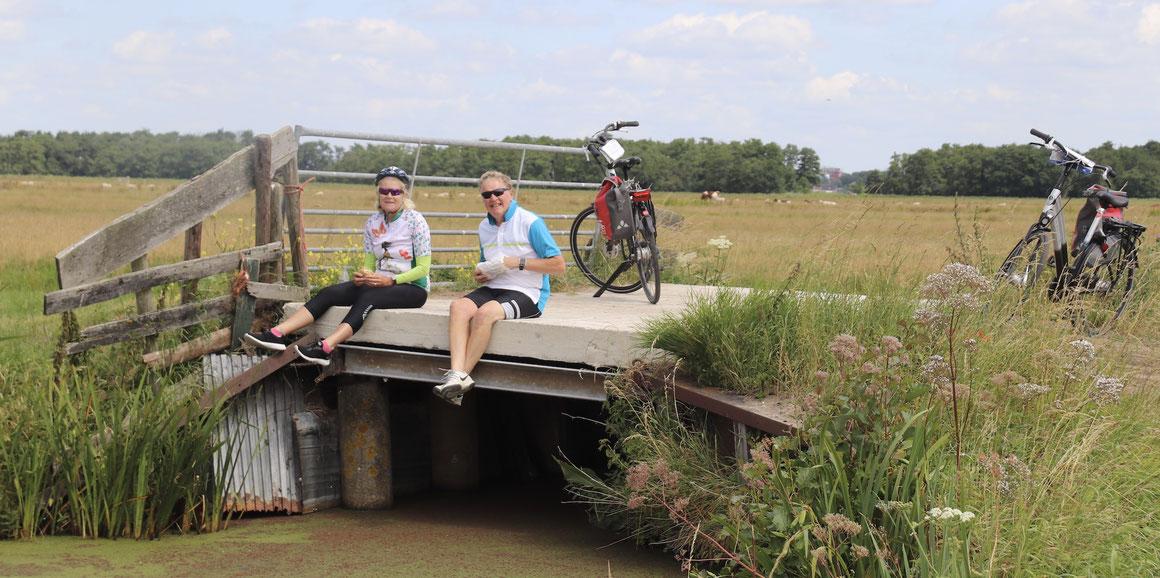 In der Natur mit Boat Bike Tours