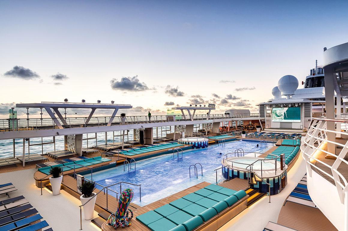 TUI Cruises Mein Schiff 2 Pooldeck