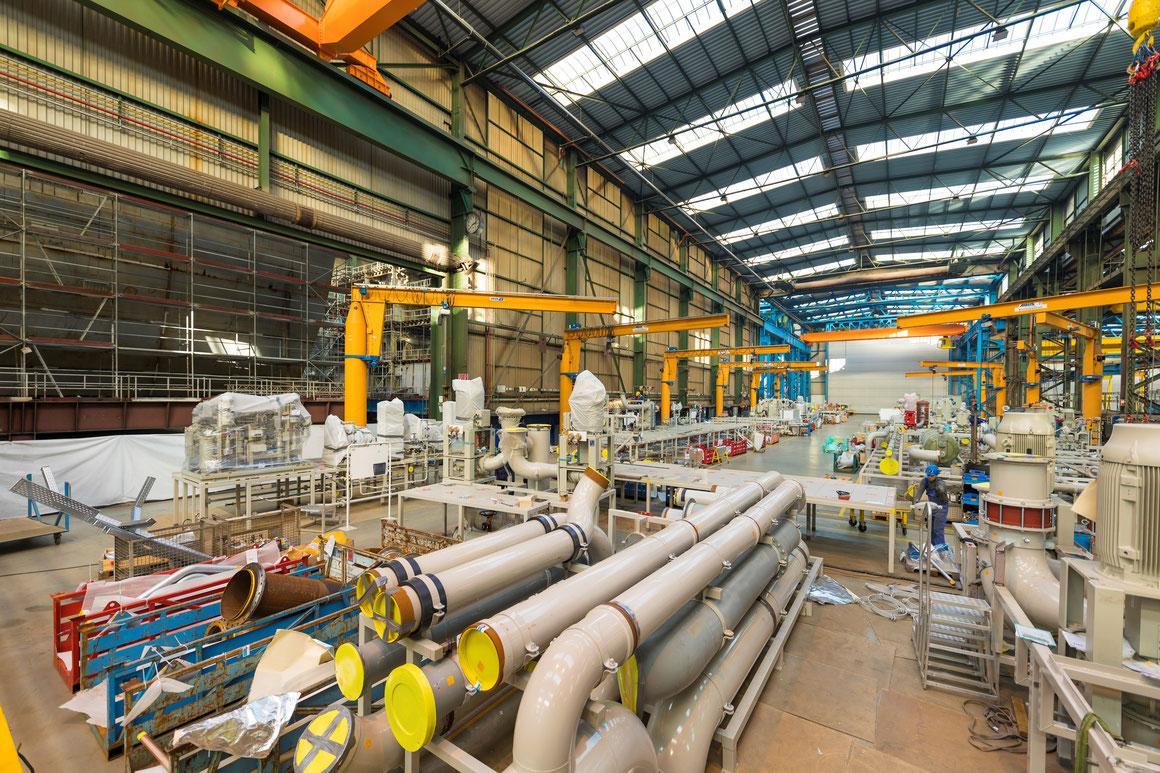 Rohrzentrum Meyer Werft