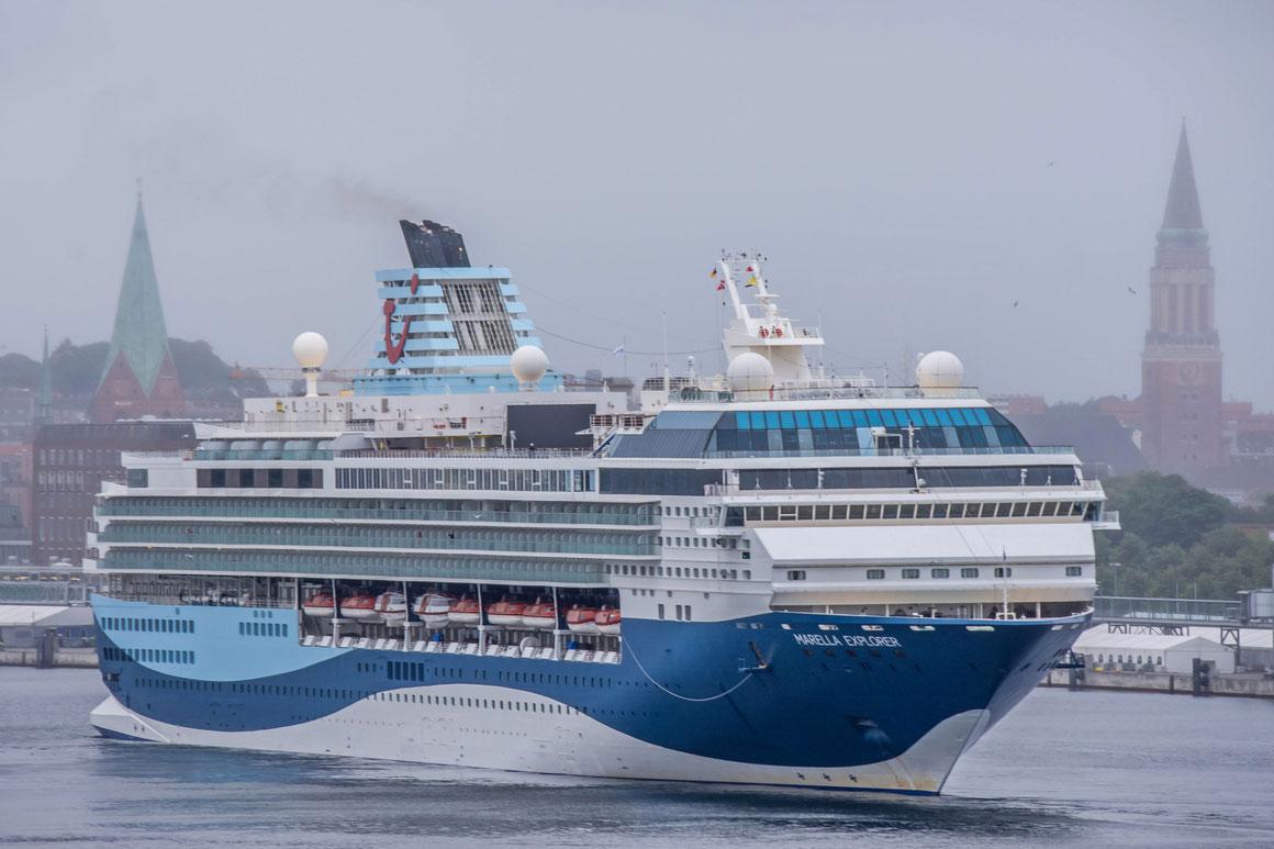 Marella Explorer in Kiel