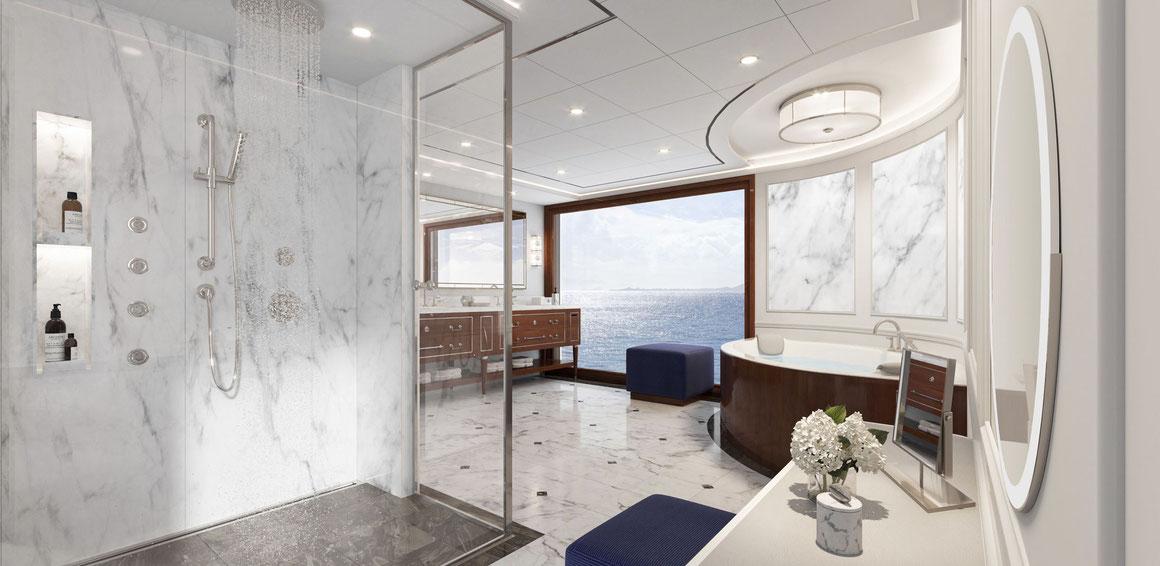 Oceania Cruises Vista Owners Suite Badezimmer
