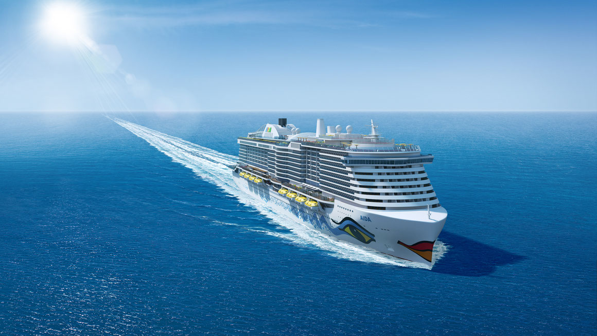 AIDA LNG Schiff 2023 finanziert