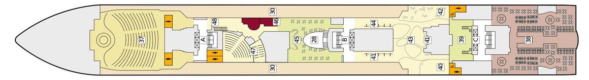 Mein Schiff Herz Deck 6 | © TUI Cruises