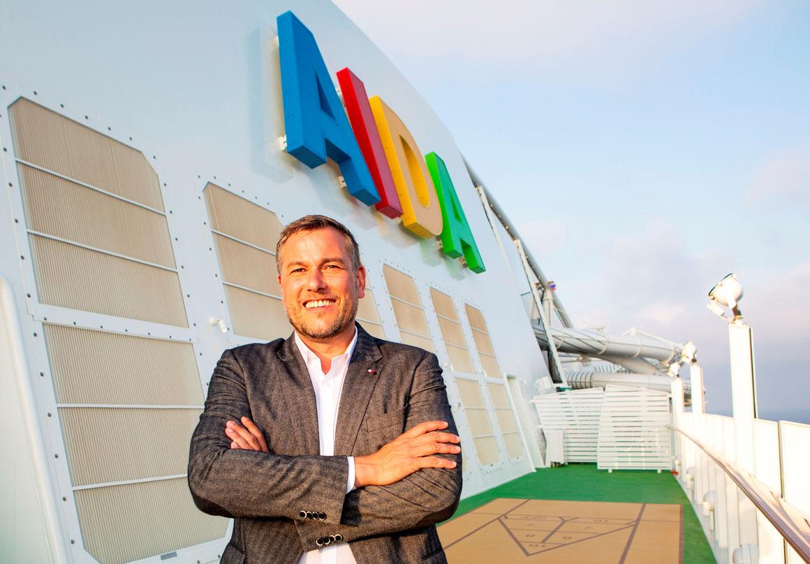 Alexander Ewig AIDA Cruises