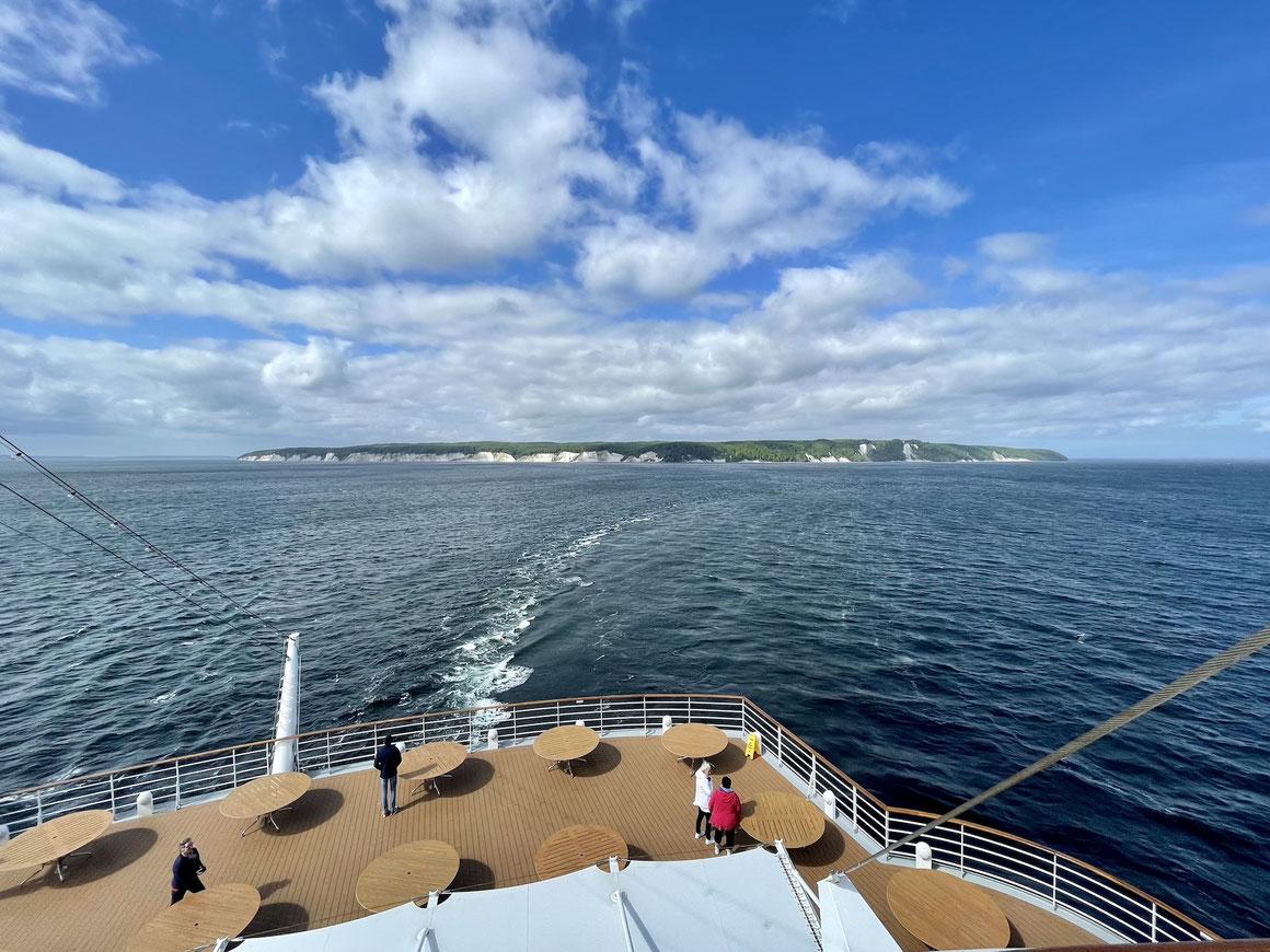 AIDAsol Panoramafahrt an der Ostseeküste