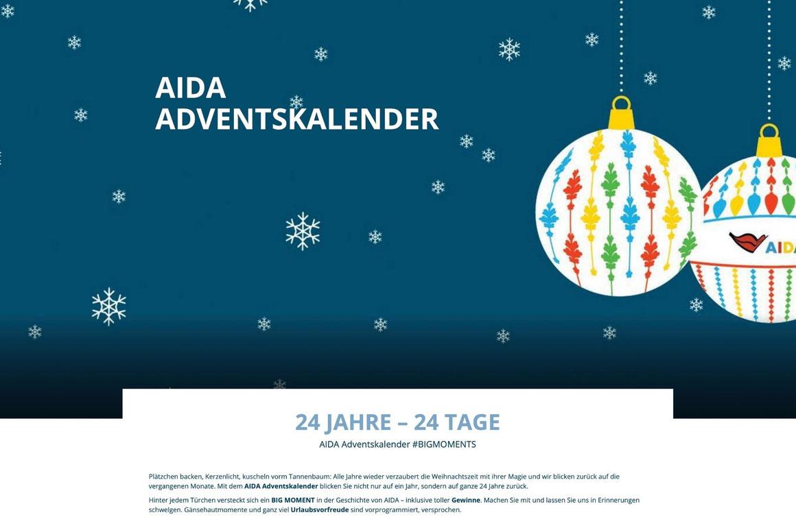 AIDA Adventskalender 2020