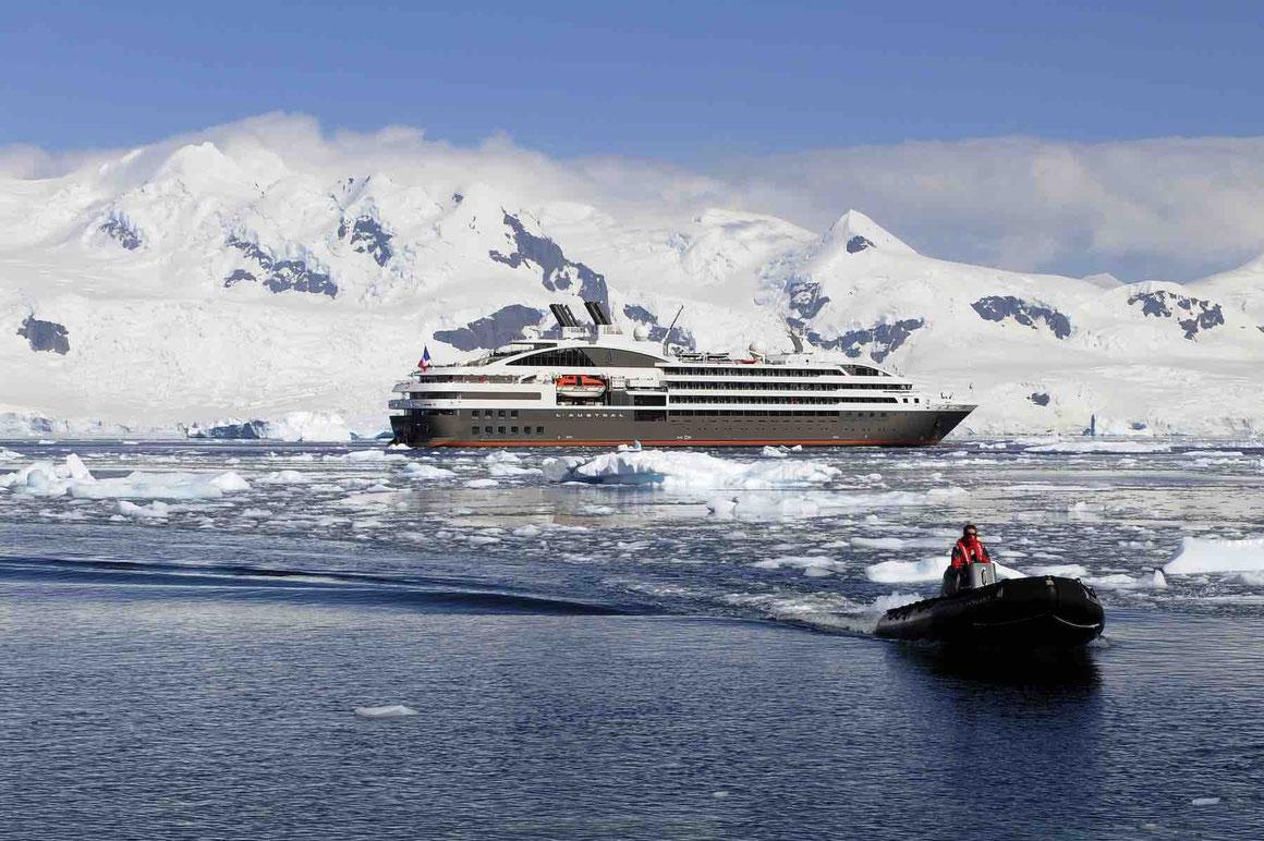 L'Austral in der Antarktis
