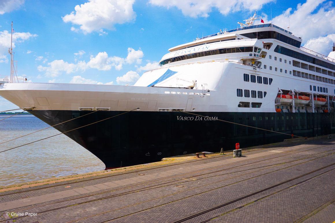 VASCO DA GAMA TransOcean Kreuzfahrten Bremerhaven