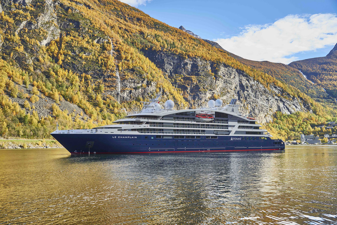 Le Champlain in Norwegen