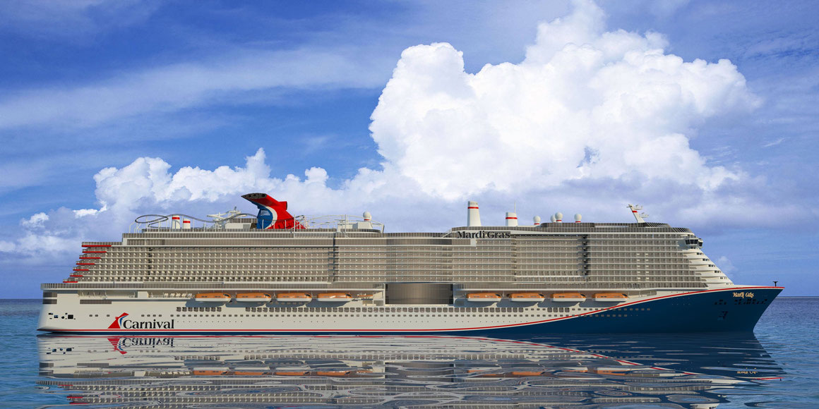 Carnival Cruise Line Mardi Gras 2020