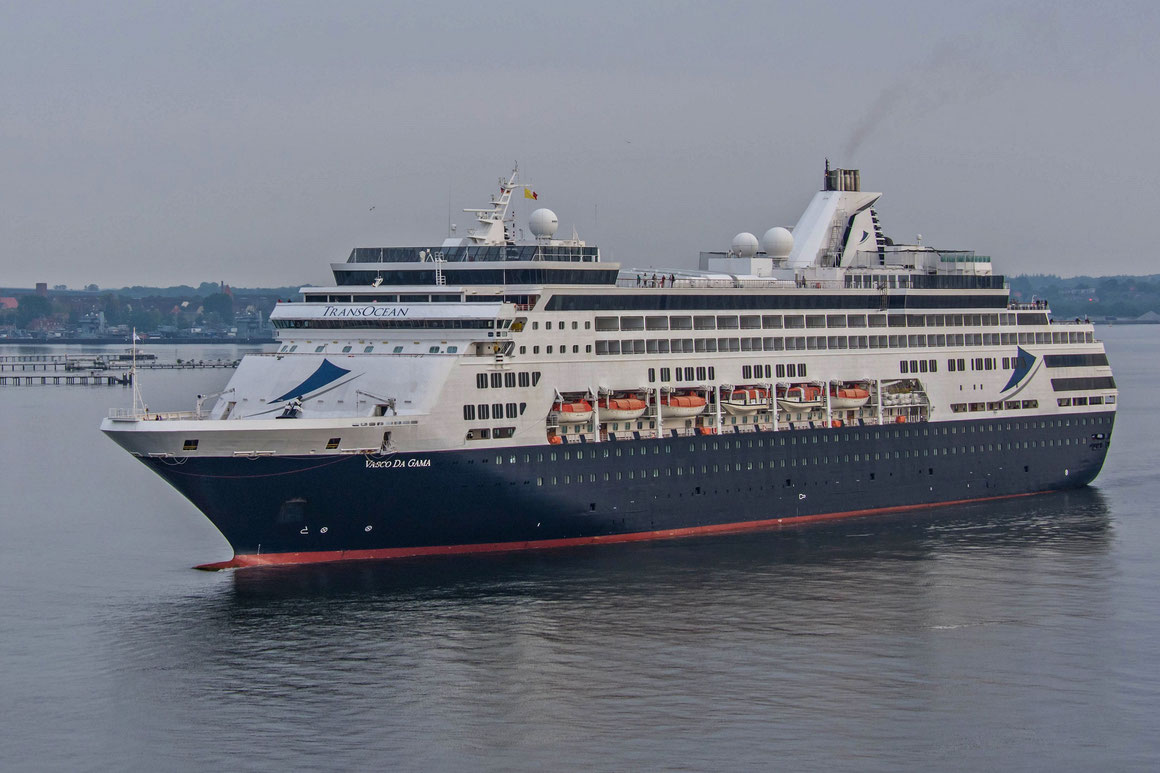 VASCO DA GAMA Erstanlauf Kiel