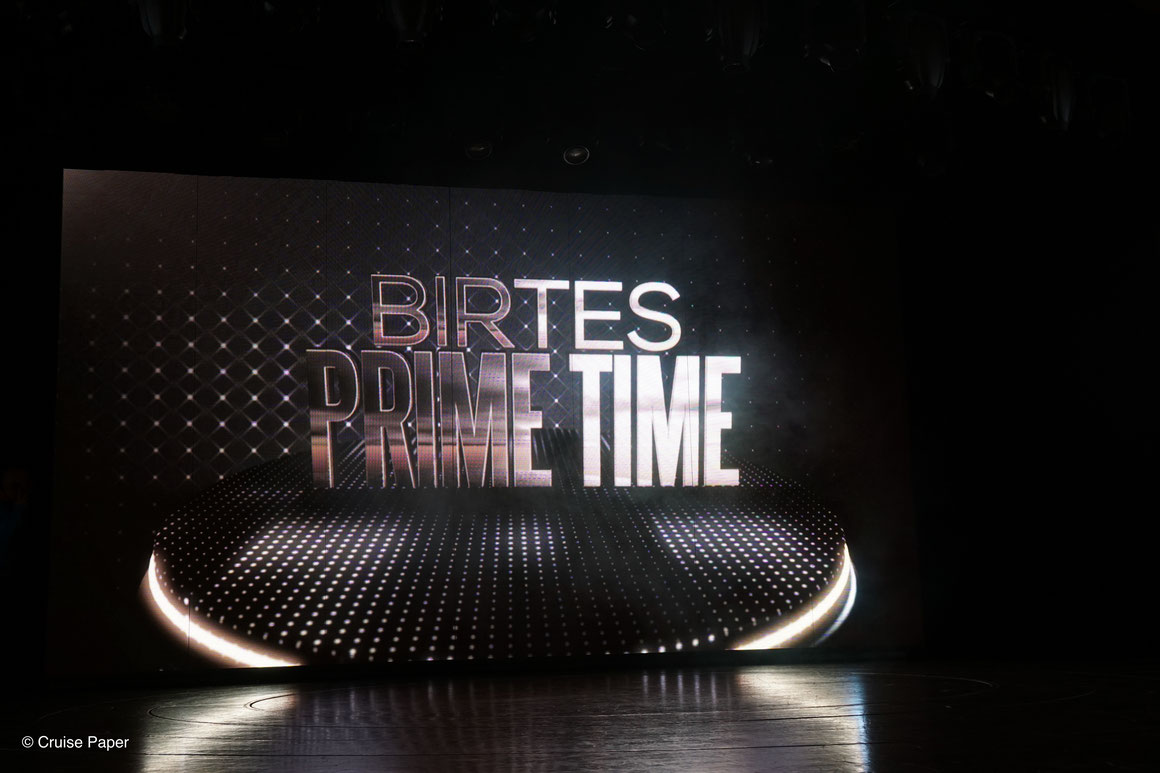 Birtes Prime Time auf AIDAperla