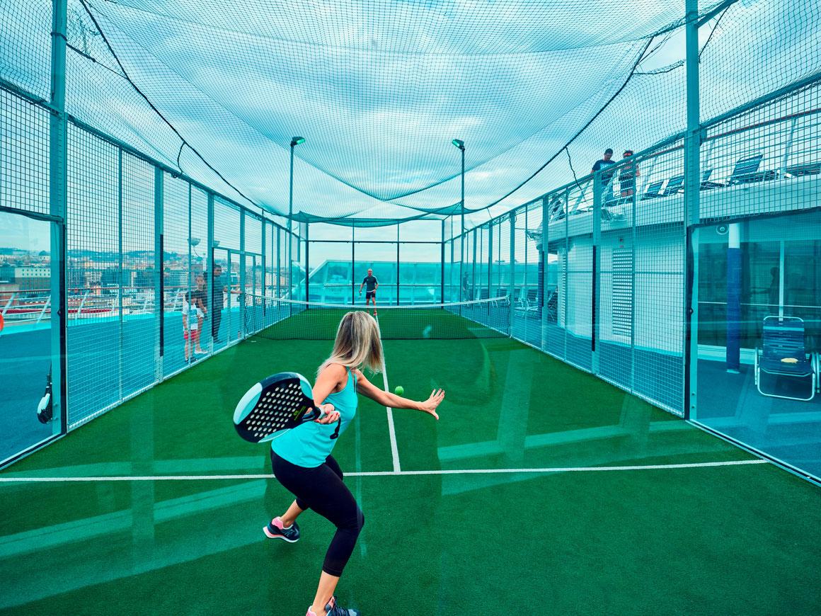 Soft-Tennis Pullmantur Cruises
