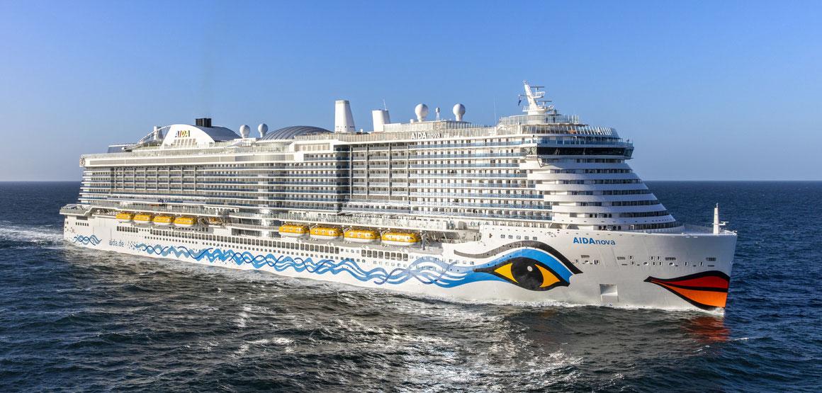 Deckpläne von AIDAnova | © AIDA Cruises