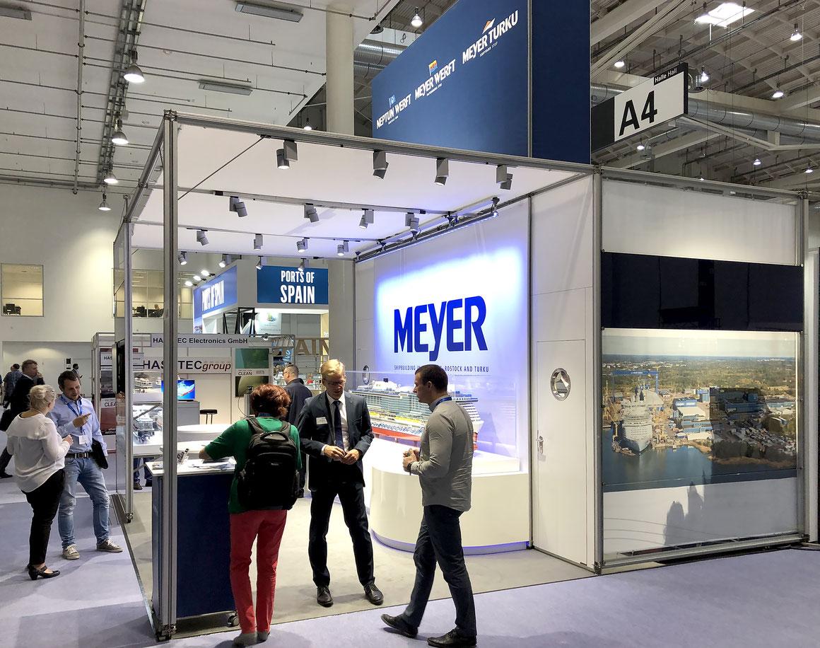 Meyer Werft Seatrade Europe 2019