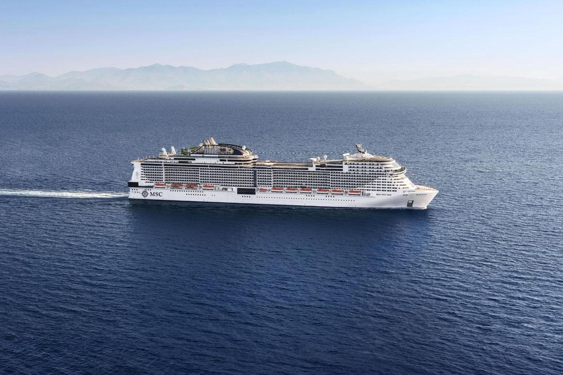 MSC Virtuosa auf See