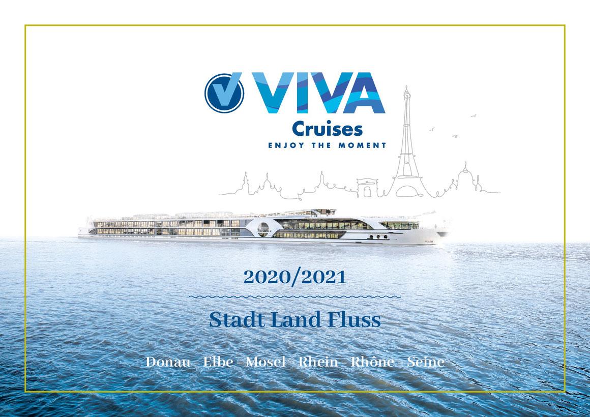 VIVA Cruises Katalog 2020 2021 Cover