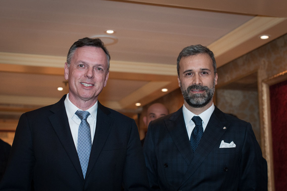 Michael Thamm & Mario Zanetti Costa Kreuzfahrten