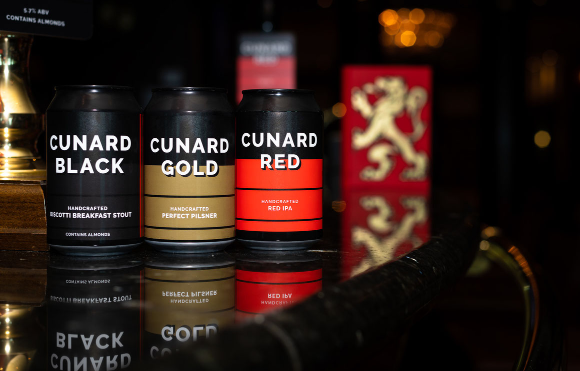 Cunard Craft Bier