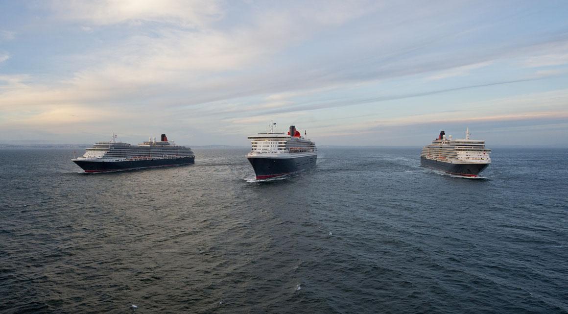 Cunard Line Queen Elizabeth Queen Victoria Queen Mary 2
