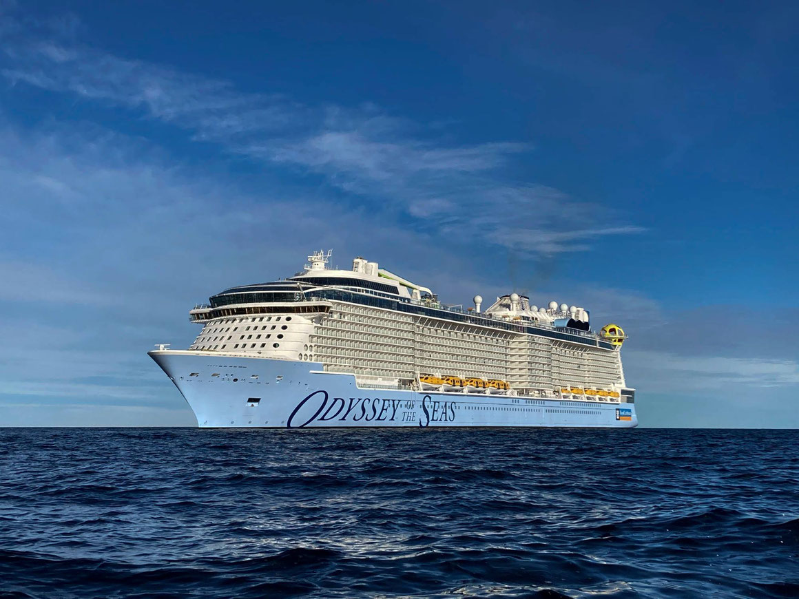 Odyssey of the Seas auf See