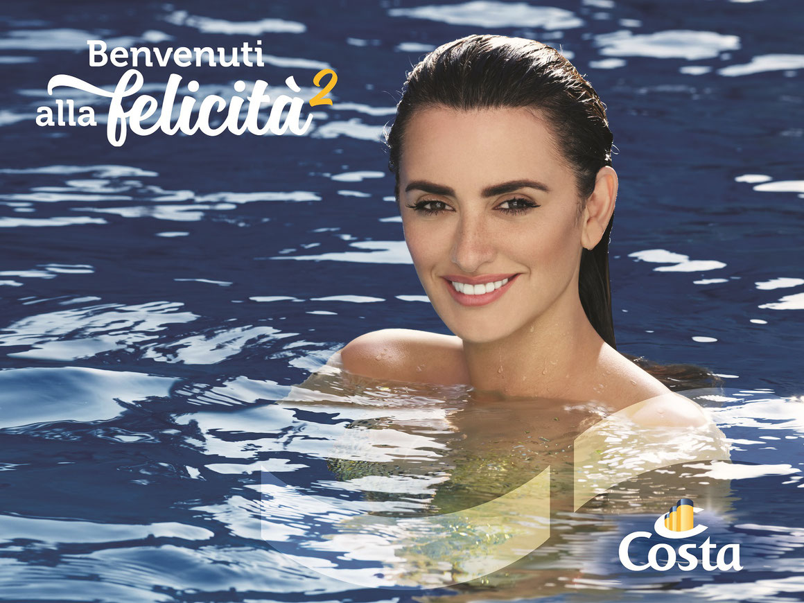 Penélope Cruz Costa Cruises