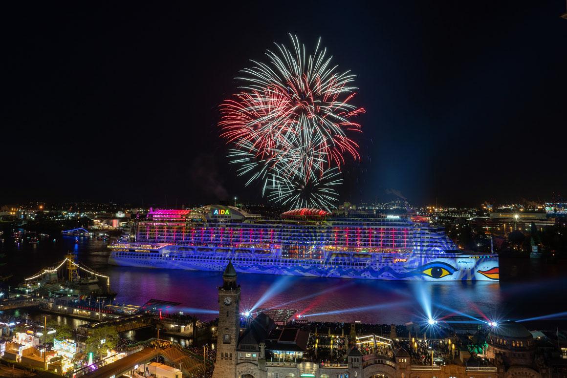 AIDAperla Hamburger Hafengeburtstag