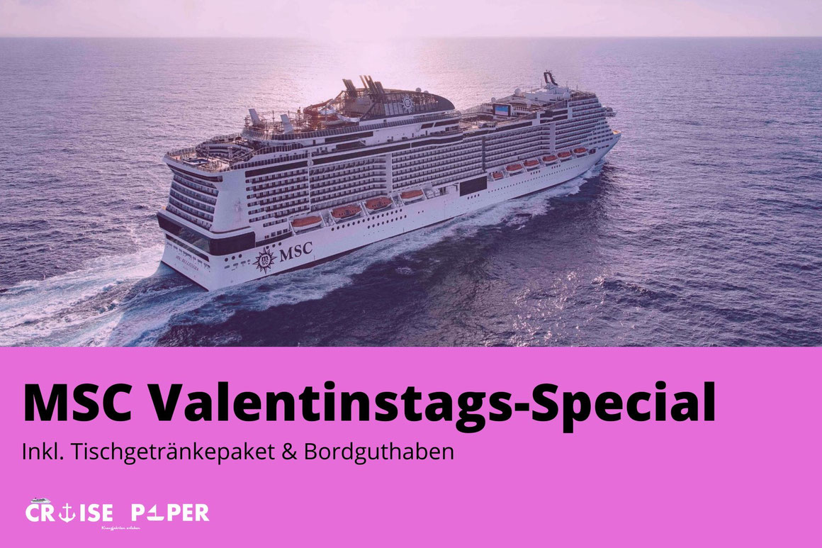 MSC Valentinstags-Special