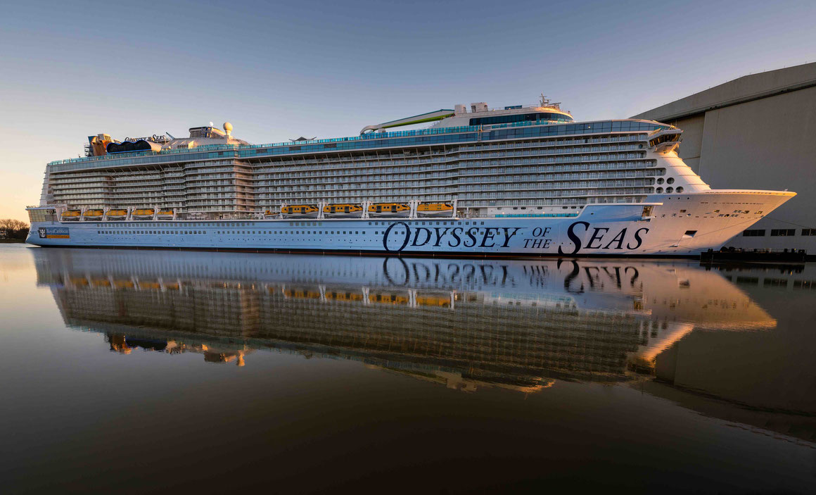 Odyssey of the Seas in Papenburg