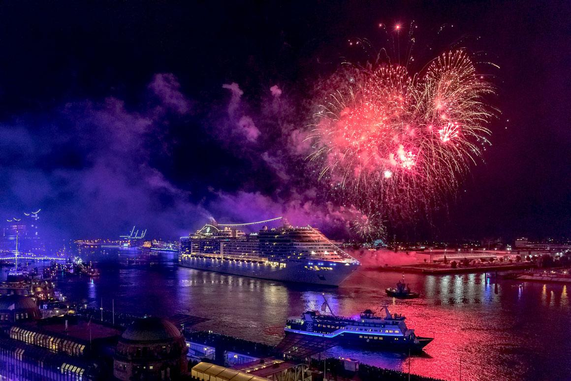 Zur Schiffsparade der Cruise Days wird MSC Preziosa |©MSC Kreuzfahrten