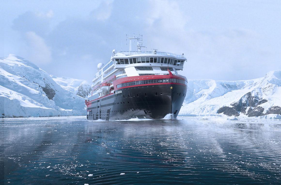 MS Roald Amundsen Antarktis