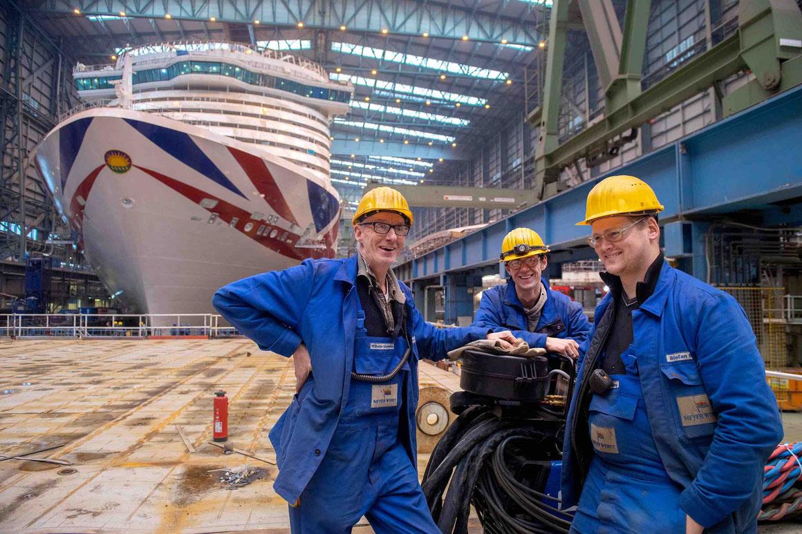 Meyer Werft 225. Geburtstag