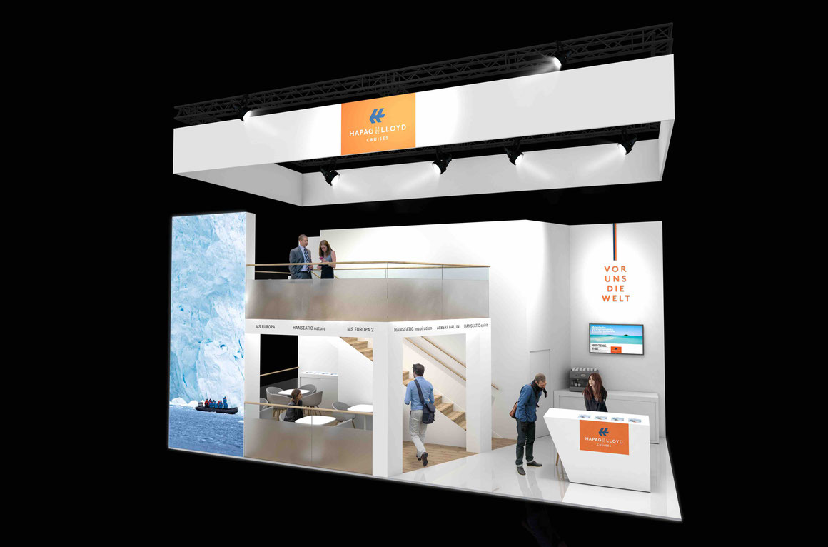 Hapag-Lloyd Cruises Messestand 2020