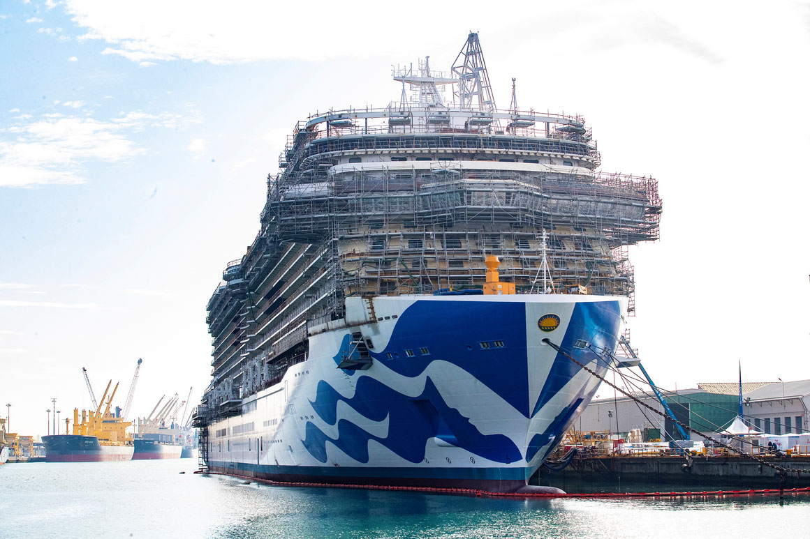Princess Cruises Neubauten