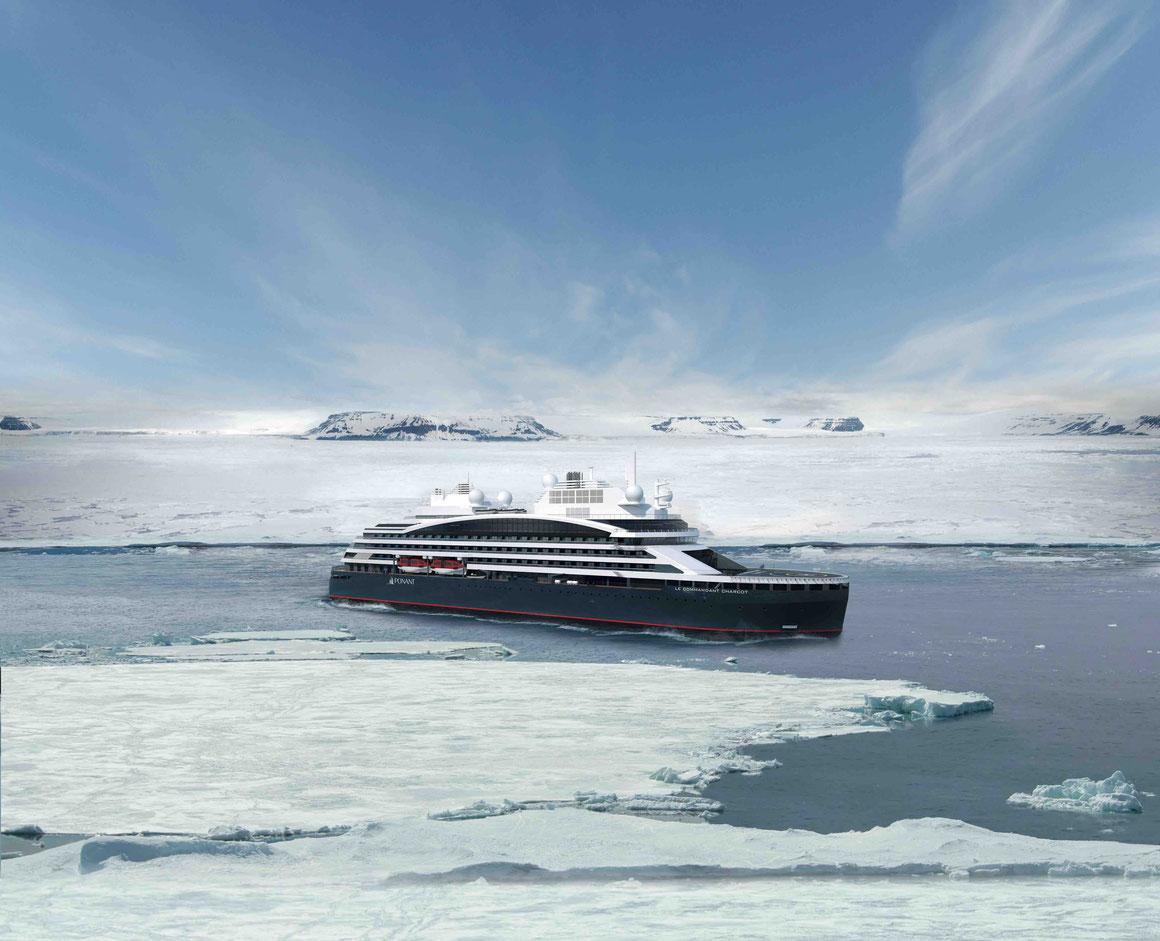 Le Commandant-Charcot Antarktis