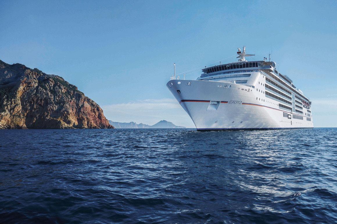 MS EUROPA 2 auf See