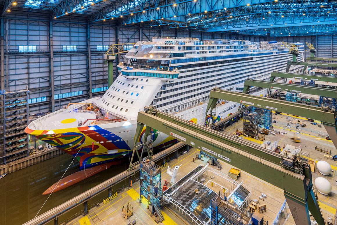 Norwegian Encore Meyer Werft