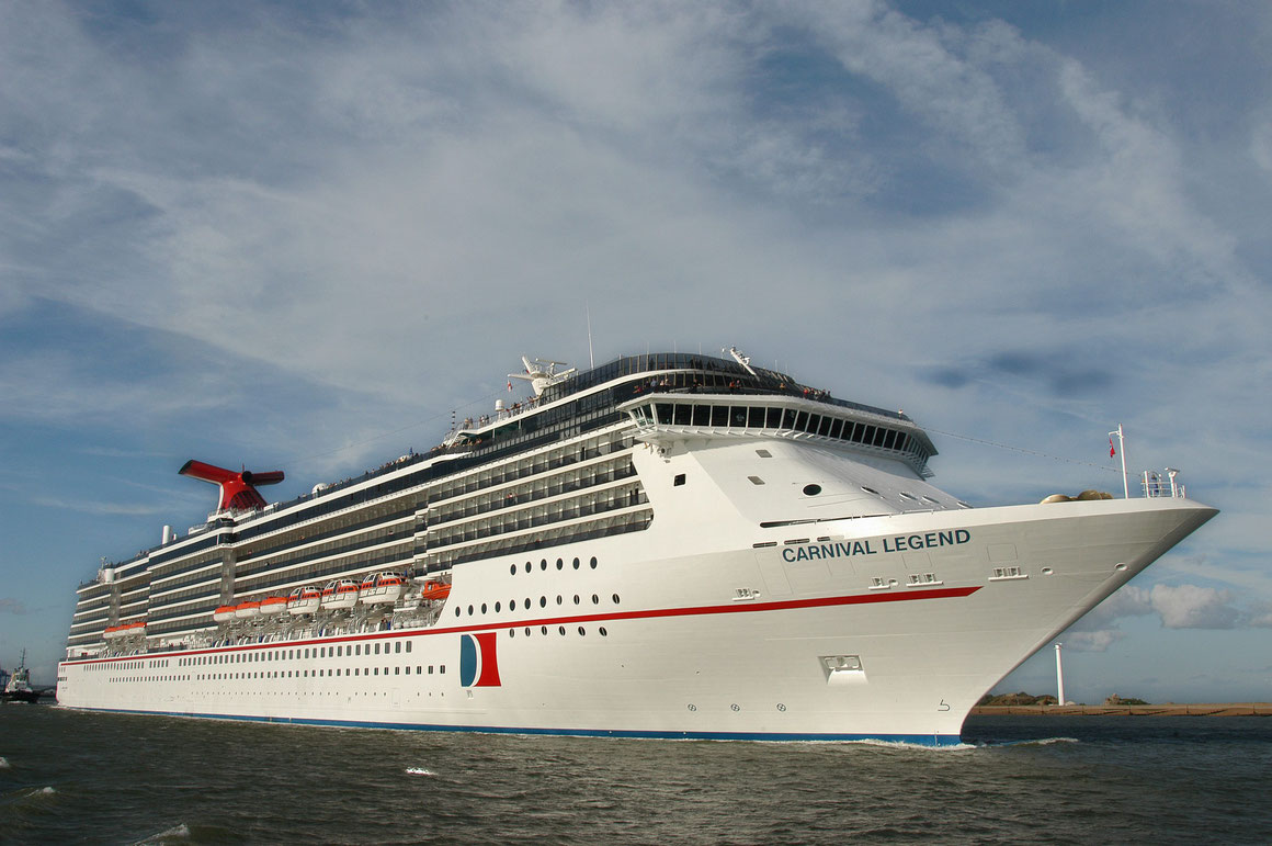 Carnival Legend in Europa