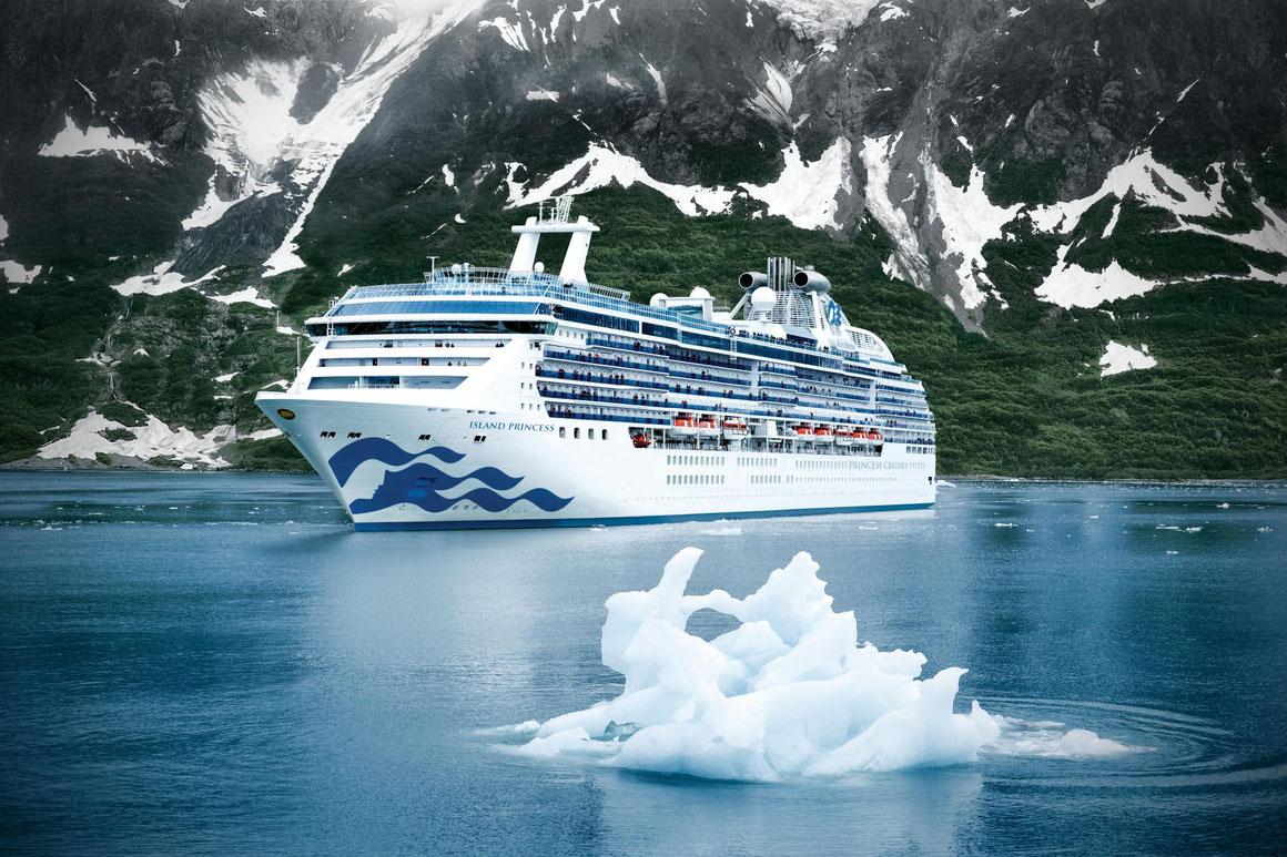 Princess Cruises 50 Jahre Alaska-Kreuzfahrten
