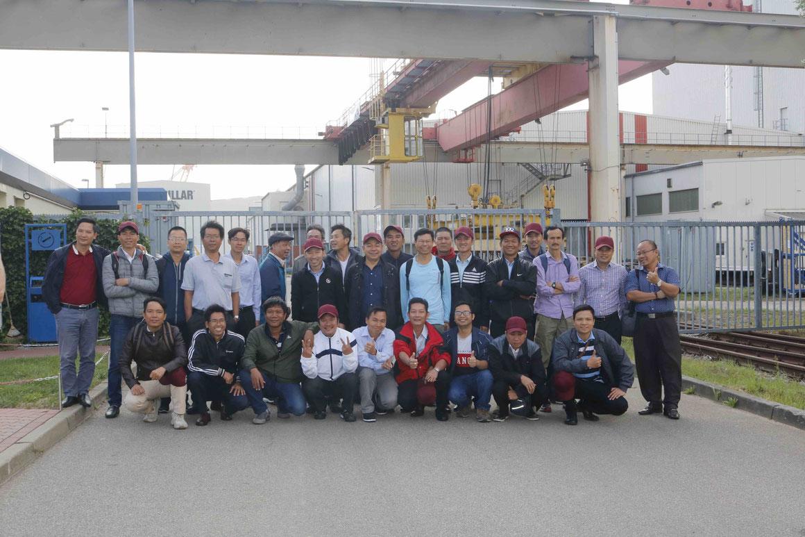 Neptun Werft Ausbildung Vietnam