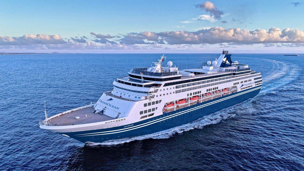 MS IDA PFEIFFER TransOcean Kreuzfahrten