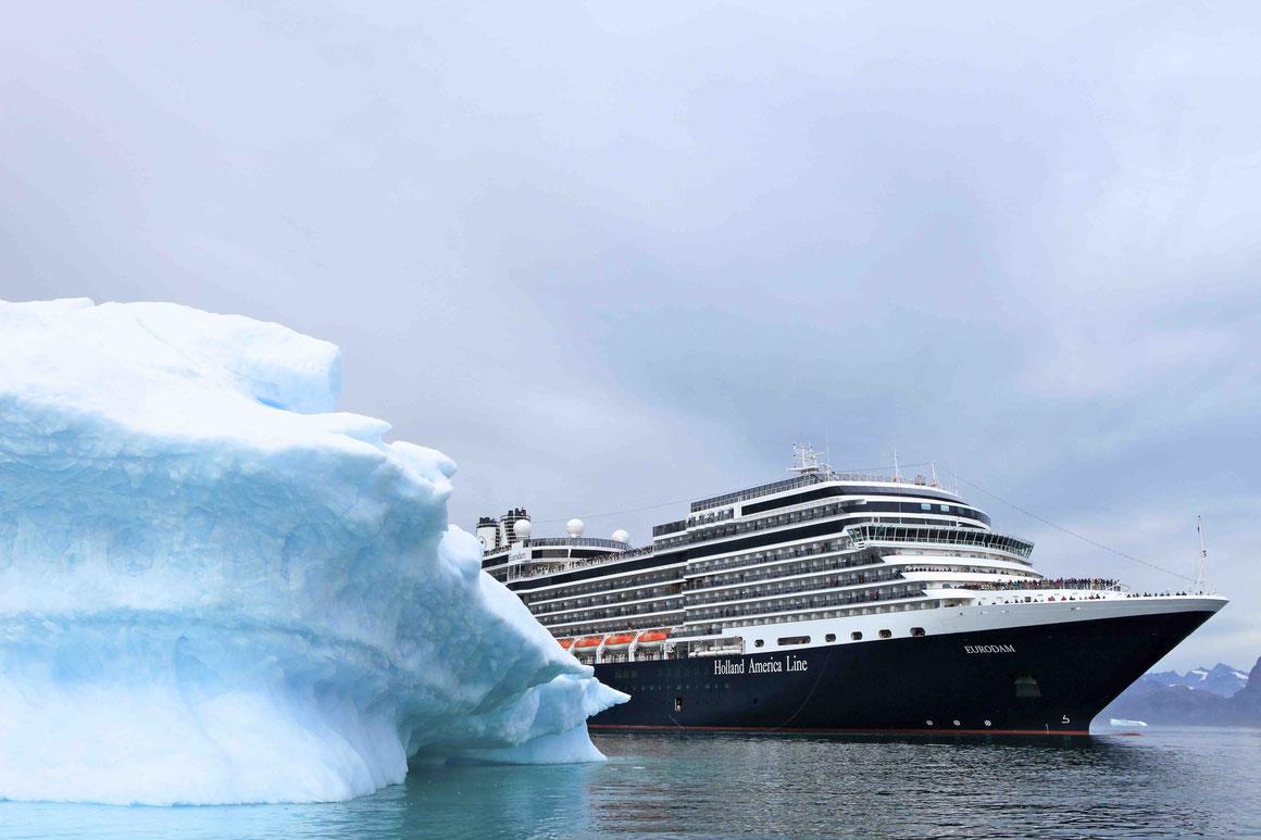 Holland America Line Eurodam Grönland